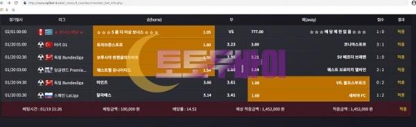EPL벳 다중아이디 핑꼐 먹튀 및 먹튀검증 상세 내용